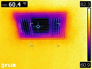 image of hvac thermal home inspection